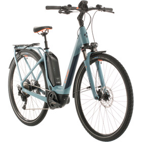 Cube Touring Hybrid EXC 500 Easy Entry, blue/orange
